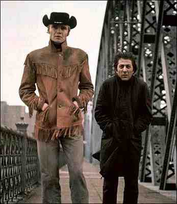 Dustin Hoffman and Jon Voight in Midnight Cowboy