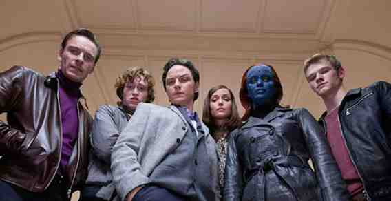 The Cast of  X-Men First Class