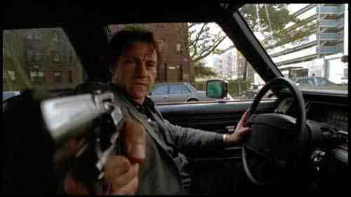 Harvey Keitel as the Lieutenant in Bad Lieutenant