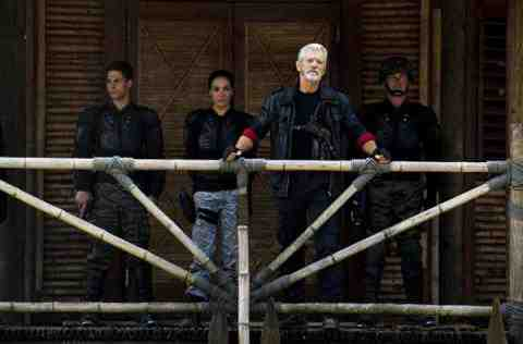 Stephen Lang as Commander Nathaniel Taylor of Terra Nova Within