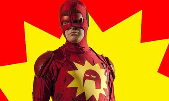 Rainn Wilson as The Crimson Bolt in Super