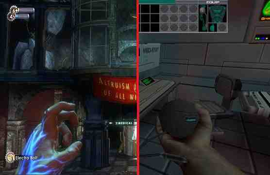 BioShock and System Shock 2 comparison