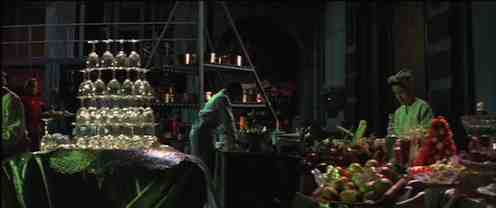 Peter Greenaway's lavish set for The Cook, The Thief, His Wife and Her Lover