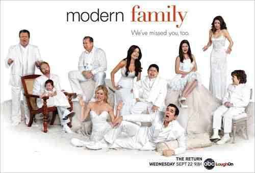 Modern Family enjoys its third season run on ABC