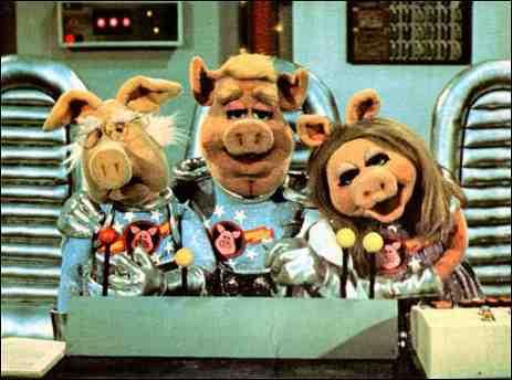 Pigs In Spaaaaaace Muppets