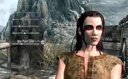 Skyrim Character Creator Detail