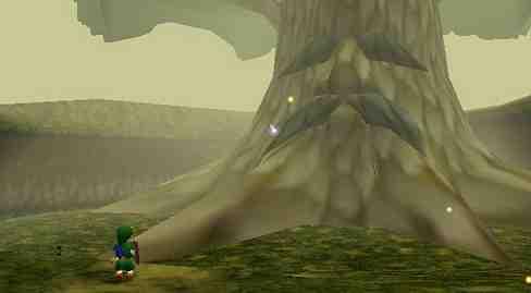 Great Deku Tree Legend of Zelda Ocarin of Time