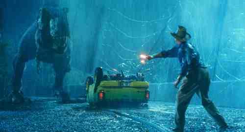 Jurassic Park T-Rex Flare