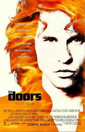The Poster for Oliver Stone's The Doors starring Val Kilmer