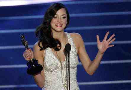 Marion Cotillard Oscar speech