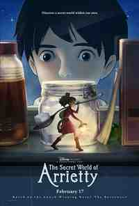 Movie Review: The Secret World of Arrietty 1