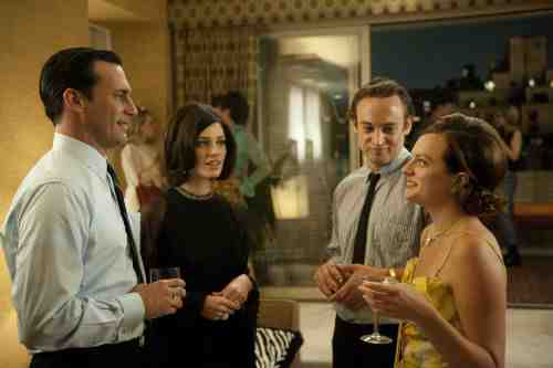 Mad Men Season 5 Episode 1 Megan Don Peggy Abe