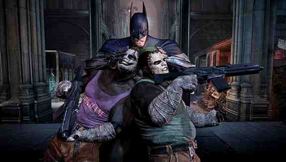 Batman Arkham City Head Smash