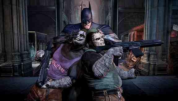 Batman Arkham City Head Smash