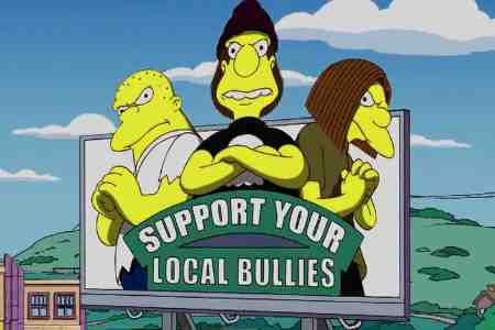 Simpsons Local Bullies