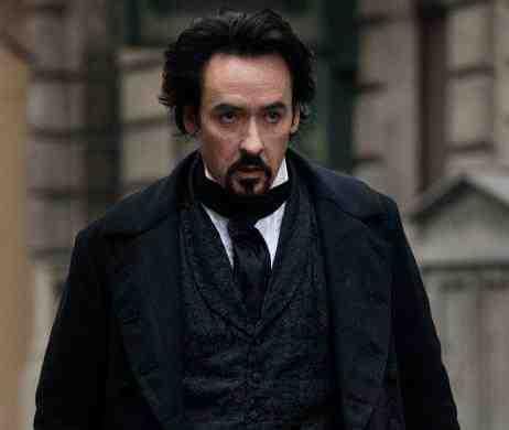 John Cusack as Edgar Allan Poe in The Raven