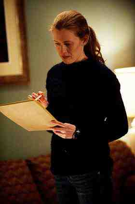 Mireille Enos as Sarah Linden in The Killing