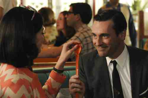 Mad Men S05E06 Megan and Don 1