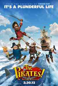 Movie Review: The Pirates! Band of Misfits 1