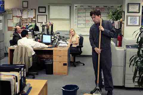 HE OFFICE --