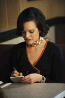 Mad Men Peggy notepad