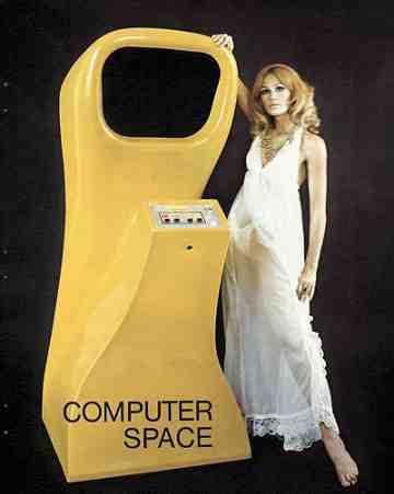 Computer Space Maiden