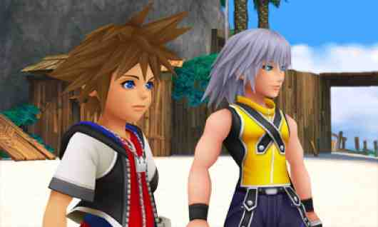 Kingdom Hearts: Sora and Riku