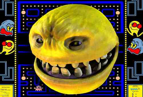 Pac-Man True Form Realistic