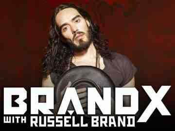 Russell Brand of Brand X with Russell Brand