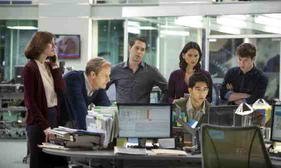 "Cast of ""The Newsroom"""
