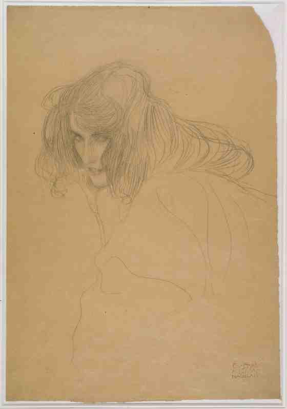 Art Review: Gustav Klimt: The Magic of Line, The Getty Center 1