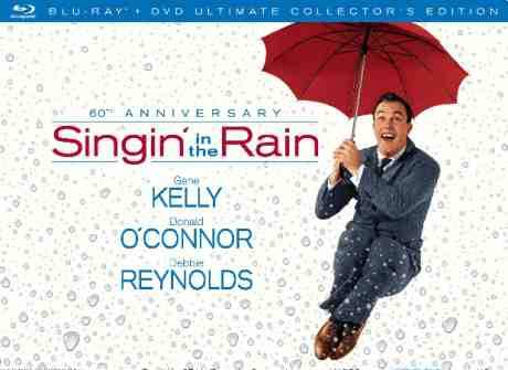 Singin' In The Rain 60th Anniversary Blu-Ray Collector's Edition