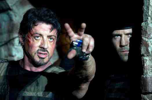 THE EXPENDABLES, from left: Sylvester Stallone, Jason Statham, 2010. ©Lionsgate
