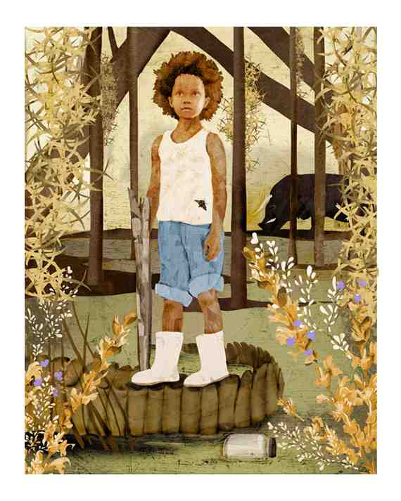 Beasts of the Southern Wild original artwork