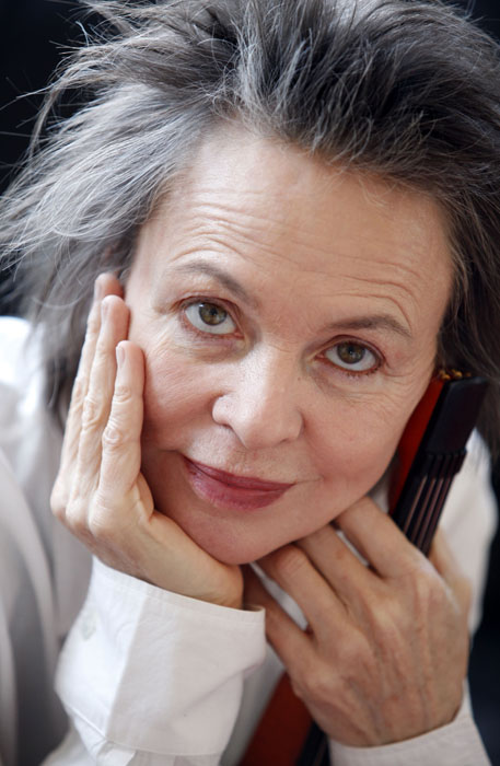 LAURIE ANDERSON in her Studio in New York, USA.