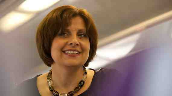 The Thick  of It: Rebecca Front as Nicola Murray