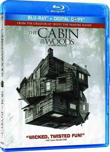 The Cabin In The Woods (2012) Blu-Ray disc