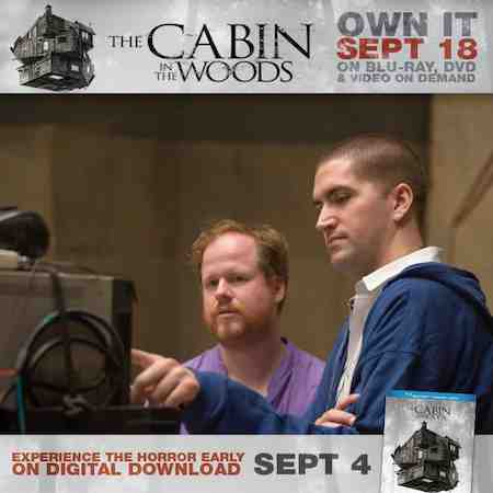 Joss Whedon and Drew Goddard team up for The Cabin In The Woods