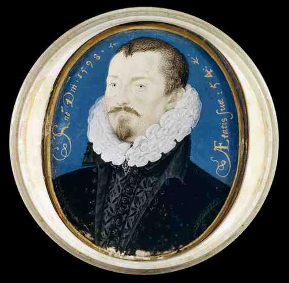 Nicholas Hilliard: Sir Thomas Bodley