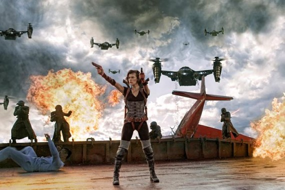 Movie still: Resident Evil: Retribution