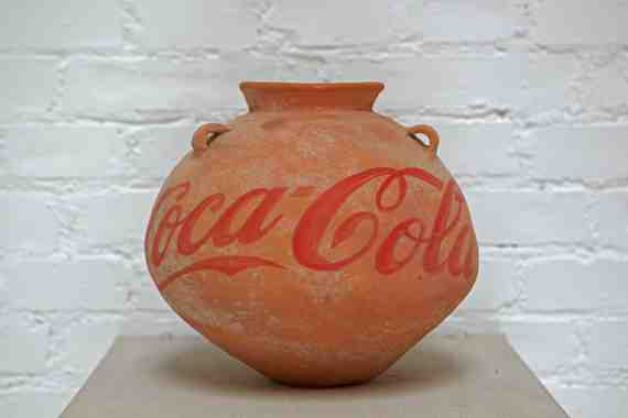 Ai Weiwei: Neolithic Vase with Coca Cola 5
