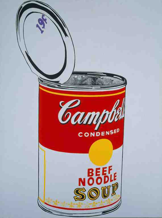 Andy Warhol: Big Campbell's Soup Can 2