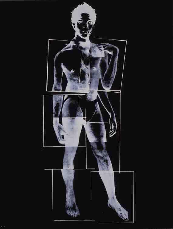 Andy Warhol: Jean Michel Basquiat 9