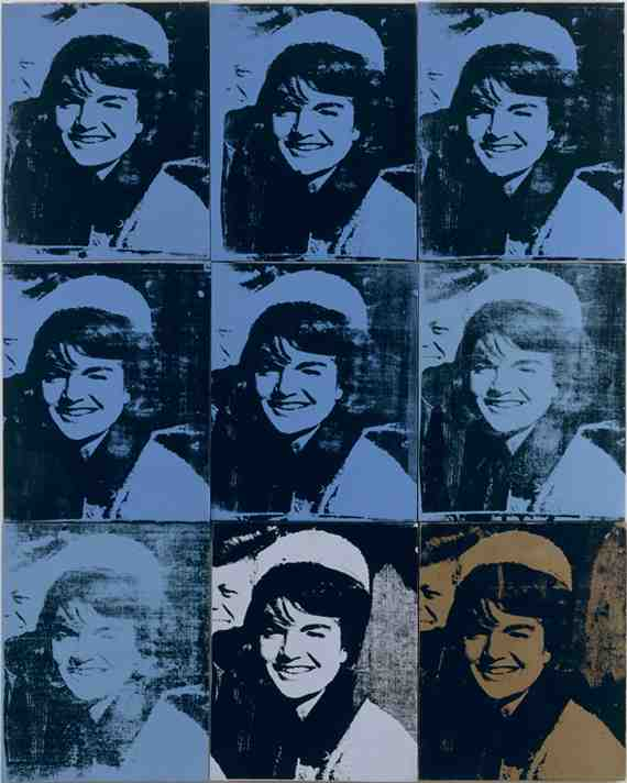 Andy Warhol: Nine Jackies 6