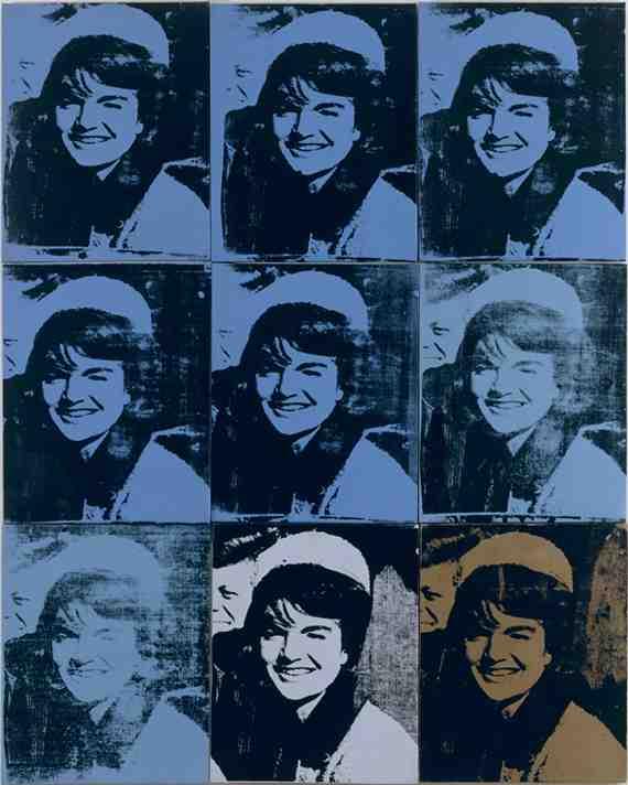 Andy Warhol: Nine Jackies 6
