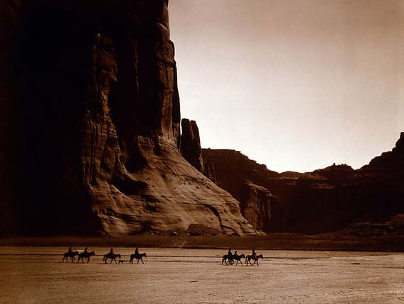 Edward S. Curtis: Canon de Chelly
