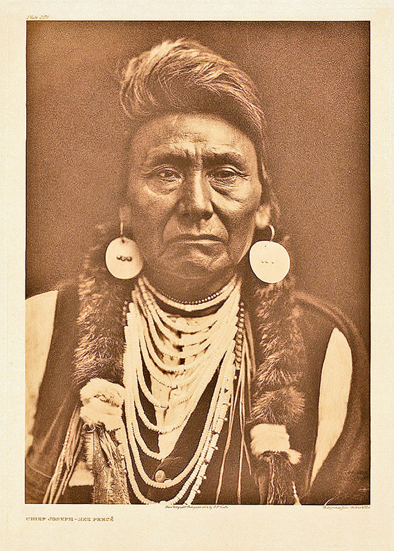 Edward S. Curtis: Chief Joseph