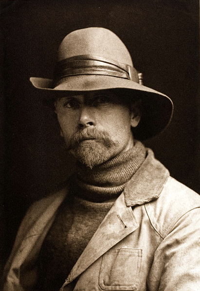 Edward S Curtis: Self Portrait