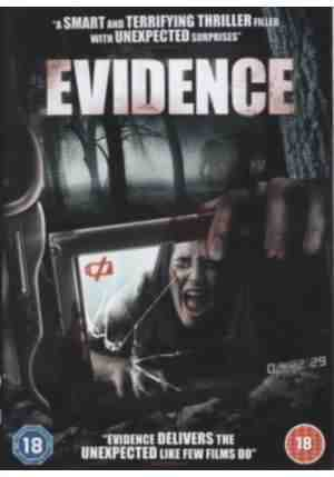 DVD cover for Evidence directed by Howie Askins