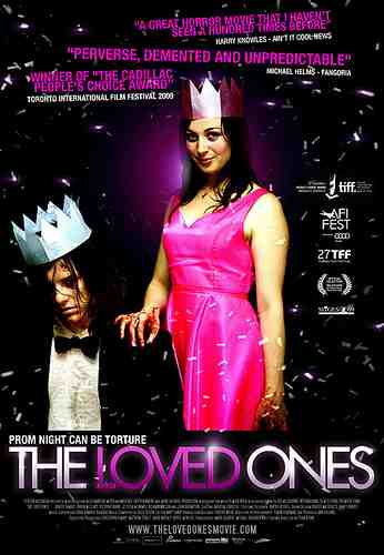 Promotional poster for Sean Byrne's The Loved Ones